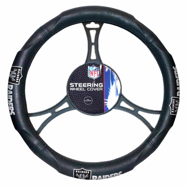Raiders Steering Wheel Cover