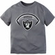Raiders Toddler Heather Logo Tee
