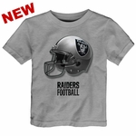 Raiders Toddler Rusher Helmet Tee