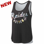 Raiders Touch by Alyssa Milano Fair Catch Tank