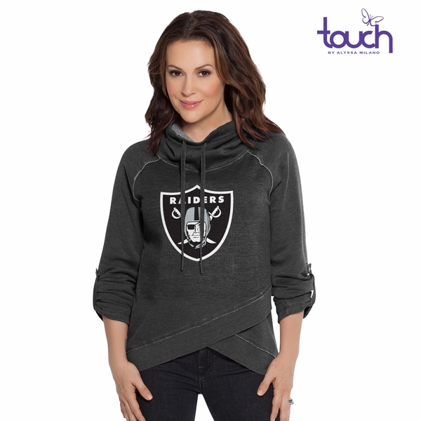 Raiders Touch by Alyssa Milano Wildcard Fleece