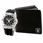 Raiders Wallet and Watch Set