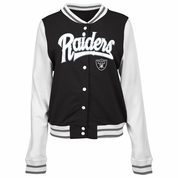 Raiders Women's French Terry Jacket