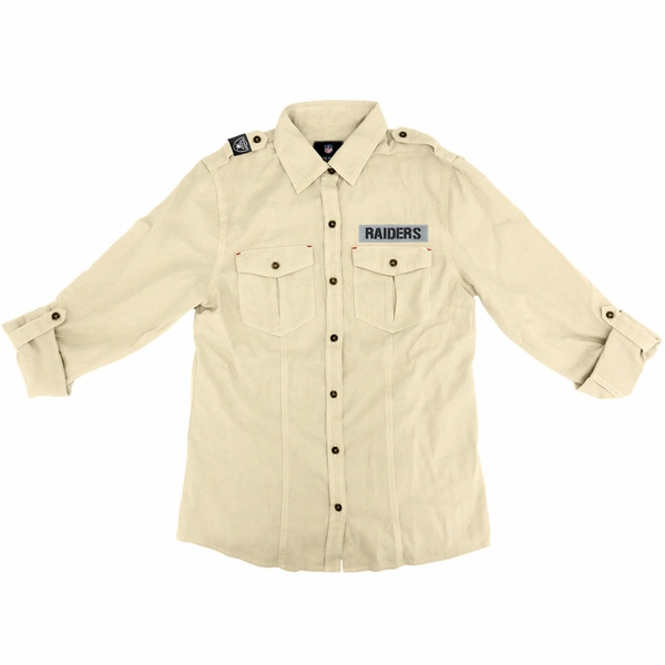 Raiders Women's Linen Cotton Shirt