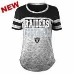 Raiders Women's Space Dye Tee