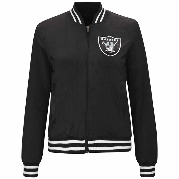 Raiders Women's Touch Base Jacket