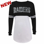 Raiders Women's Varsity Spirit Long Sleeve Tee