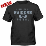 Raiders Youth Property of Tee