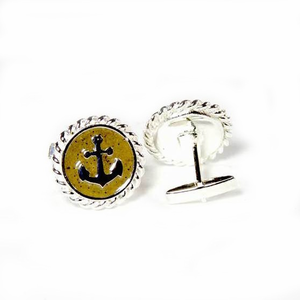 Anchor Cuff Links - Click to enlarge