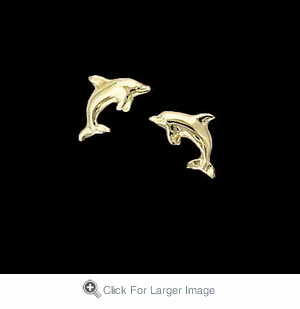 Baby Dolphin Earrings - Click to enlarge