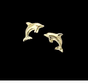 Baby Dolphin Earrings