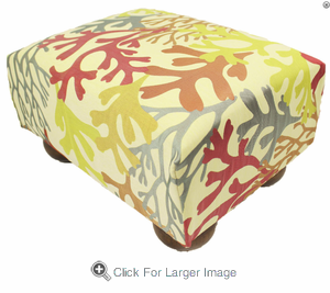 Bay Islands Tropical Footstool - Click to enlarge