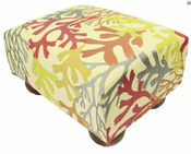 Bay Islands Tropical Footstool