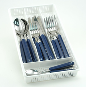Blue Anchor Flatware Set