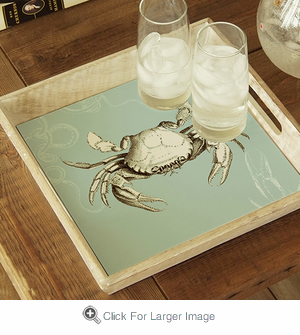 Blue Crab Tray - Click to enlarge