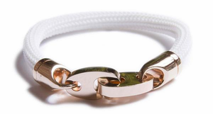 Charter Braided Rubber Bracelet - Click to enlarge
