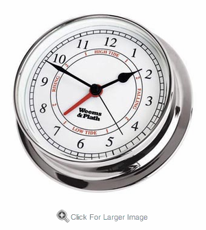 Chrome Endurance 125 Time & Tide Clock - Click to enlarge