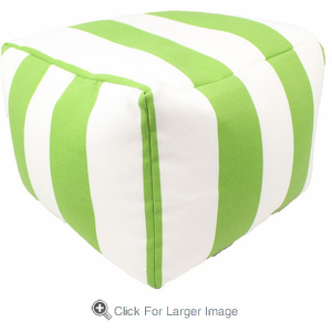Citrus Cabana Pouf - Click to enlarge