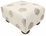 Clearwater Sand Footstool