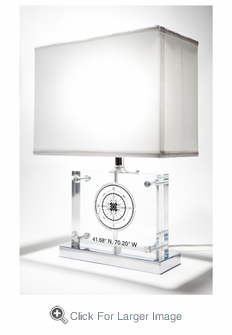 Compass Rose Table Lamp - Click to enlarge