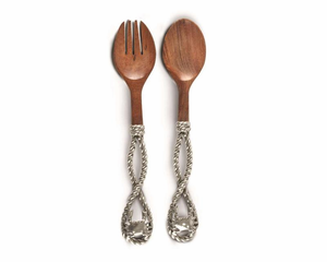 Crab & Rope Salad Server Set - Click to enlarge