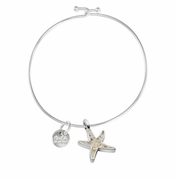 Delicate Starfish Beach Bangle