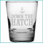 Down The Hatch Glassware