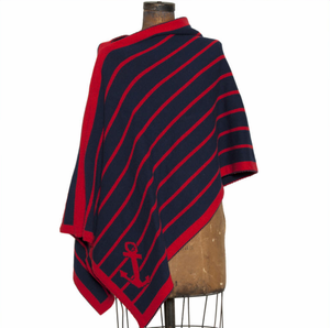 Eco Nautical Stripe Anchor Wrap - Click to enlarge