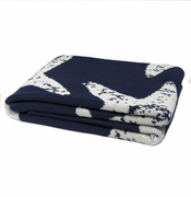 Eco Sea Star Marine Blue Throw