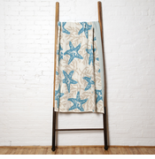 Eco Starfish Coral Throw