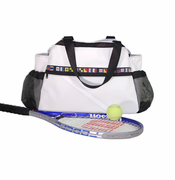 Ella Vickers Sailcloth Tennis Bag Tote