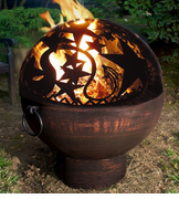Fire Bowl with Orion Fire Dome