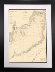 Framed NOAA Historical Charts - Click to enlarge