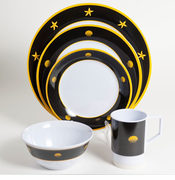 Commodore Melamine Dinnerware Set