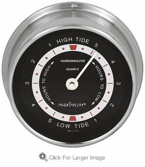 Harbormaster Tide Clock - Click to enlarge