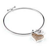 Heart Beach Bangle