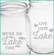 Lake Talk Glassware