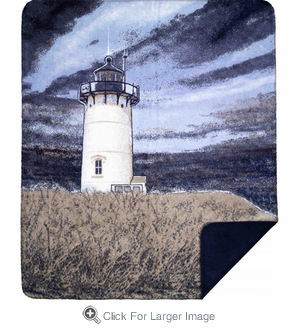 Lighthouse Microplush Throw - Click to enlarge