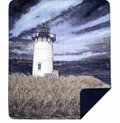 Lighthouse Microplush Throw