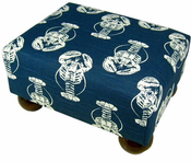 Lobster Navy Footstool