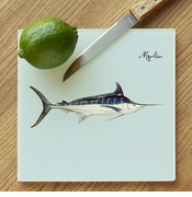 Marlin Glass Cutting Board