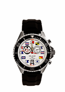 Men's 200M White Nautical Tide Watch