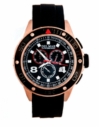 Men's Rugged Copper Sport Chronograph Watch