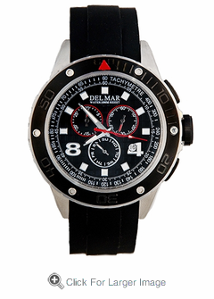 Men's Rugged Sport Chronograph Watch - Click to enlarge