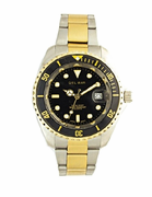 �Men's Two Tone Sport Dive Watch