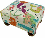 Mermaid Footstool