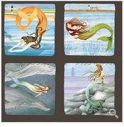 Mermaids Coasters
