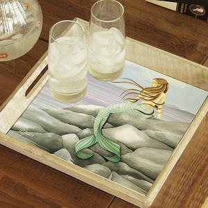Mermaid On The Rocks Tray - Click to enlarge