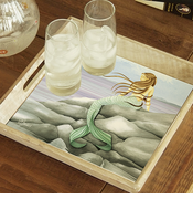Mermaid On The Rocks Tray