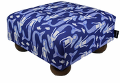 Mermaid Song Footstool